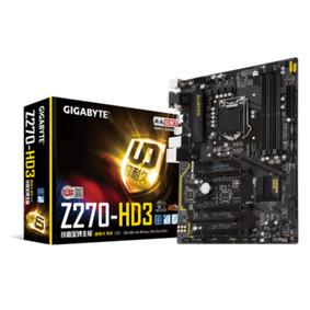 技嘉 Z270-HD3 Z270-HD3单主板
