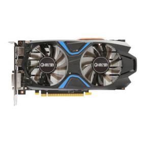 影驰 GeForce GTX 1050Ti大将1354(1468)MHz/7GHz 4G/128Bit 游戏显卡 黑色
